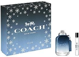 Profumi e cosmetici Coach Blue - Set (edt/60ml+ edt/7.5ml)