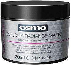 Profumi e cosmetici Maschera per capelli colorati - Osmo Colour Save Colour Radiance Mask