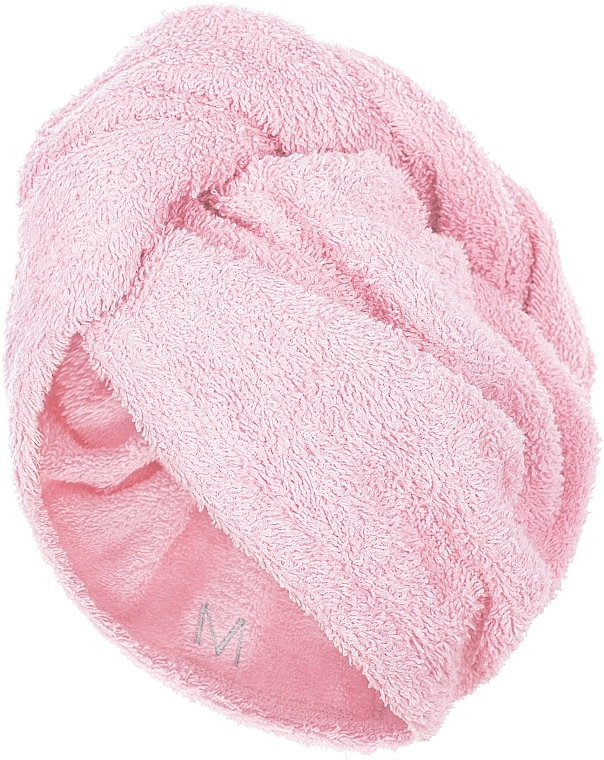 Asciugamano turbante, rosa chiaro - MakeUp