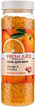 Profumi e cosmetici Sale per il bagno - Fresh Juice Orange and Guarana