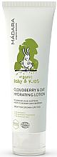 Profumi e cosmetici Lozione idratante con estratti di avena e mirtillo palustre - Madara Cosmetics Ecobaby Cloudberry And Oat Hydrating Lotion