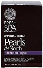 """Profumi e cosmetici Cocktail per viso """"Perle del Nord"""" - Natura Siberica Fresh Spa Imperial Caviar Pearls De North"""
