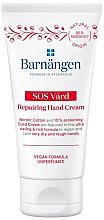 Profumi e cosmetici Crema mani, per pelli secche e screpolate - Barnangen SOS Vard Repairing Cream