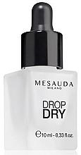 Profumi e cosmetici Asciuga smalto extra lucentezza - Mesauda Milano Drop Dry 112