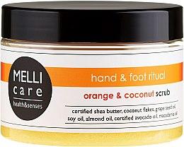 Profumi e cosmetici Scrub detergente all'arancia e cocco - Melli Care Orange&Coconut Scrub