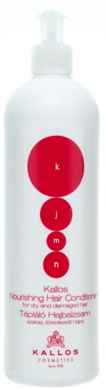 Balsamo nutriente per capelli secchi e danneggiati - Kallos Cosmetics Nourishing Hair Conditioner — foto N1