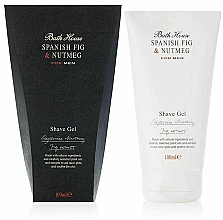 Profumi e cosmetici Bath House Spanish Fig and Nutmeg - Gel da barba