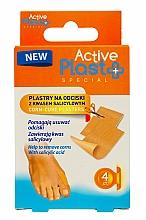 Profumi e cosmetici Cerotto per calli con acido salicilico - Ntrade Active Plast Special Corn-Cure Plasters For Cutting