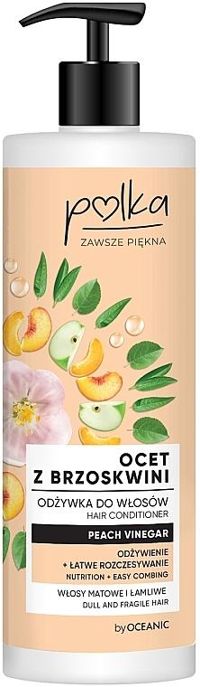 Balsamo per capelli all'aceto di pesca - Polka Peach Vinegar Conditioner
