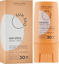 Profumi e cosmetici Crema solare per viso e corpo - Oriflame Sun 360 Sun Stick SPF 30