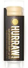 """Profumi e cosmetici Balsamo labbra """"Protezione Solare"""" - Hurraw! Sun Protection Lip Balm SPF15 Limited Edition"""