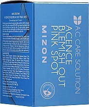 Profumi e cosmetici Trattamento efficace notturno per l'acne e l'infiammazione - Mizon Acence Blemish Out Pink Spot