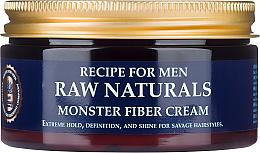 Profumi e cosmetici Crema per capelli - Recipe For Men RAW Naturals Monster Fiber Cream