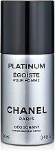 Profumi e cosmetici Chanel Egoiste Platinum - Deodorante