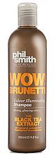 Profumi e cosmetici Shampoo - Phil Smith Be Gorgeous Wow Brunette Colour Illuminating Shampoo