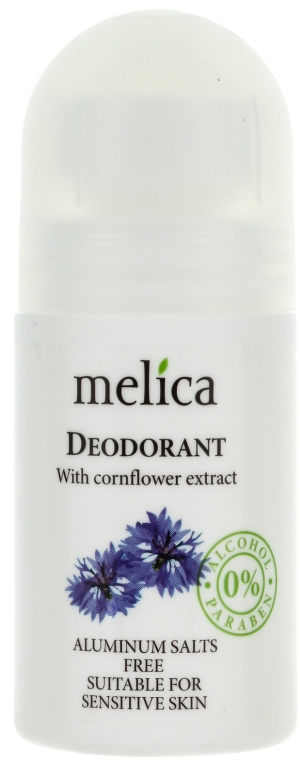 Deodorante estratto fiordaliso - Melica Organic With Cornflower Extract Deodorant