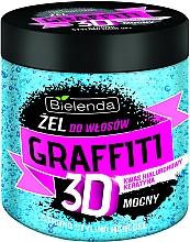 Profumi e cosmetici Gel styling capelli - Bielenda GRAFFITI 3D Strong Stayling Hair Gel