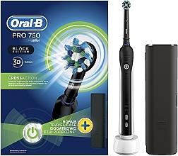 Profumi e cosmetici Spazzolino elettrico - Oral-B Pro 2 2500 Black Edition