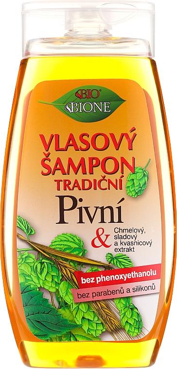"Shampoo per capelli ""Birra"" - Bione Cosmetics Traditional Beer Hair Shampoo"