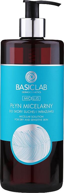 Acqua micellare per pelli secche e sensibili - BasicLab Dermocosmetics Micellis
