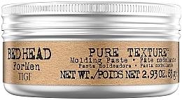 Profumi e cosmetici Cera modelante - Tigi Bed Head Men Pure Texture