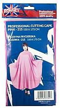 Profumi e cosmetici Mantella da barbiere, rosa - Ronney Professional Cutting Cape