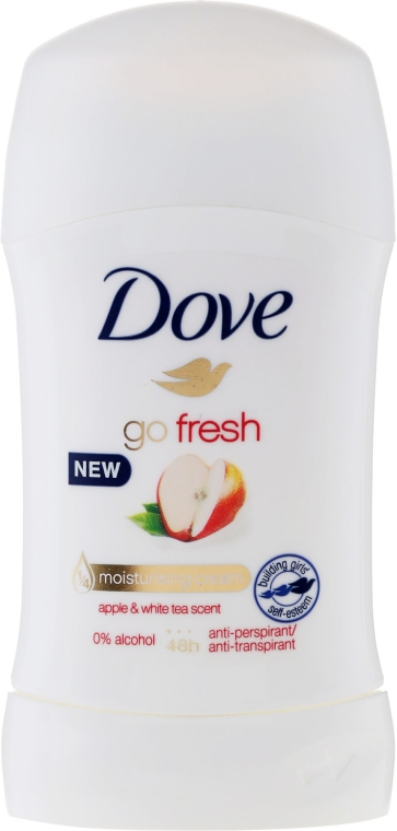"Deodorante stick ""Mela e tè bianco"" - Dove Go Fresh Apple & White Tea"