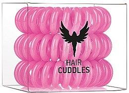 Profumi e cosmetici Elastici per capelli, rosa, 3 pz - HH Simonsen Hair Cuddles Pink