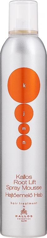 Mousse volumizzante per capelli - Kallos Cosmetics Root Lift Volume Mousse