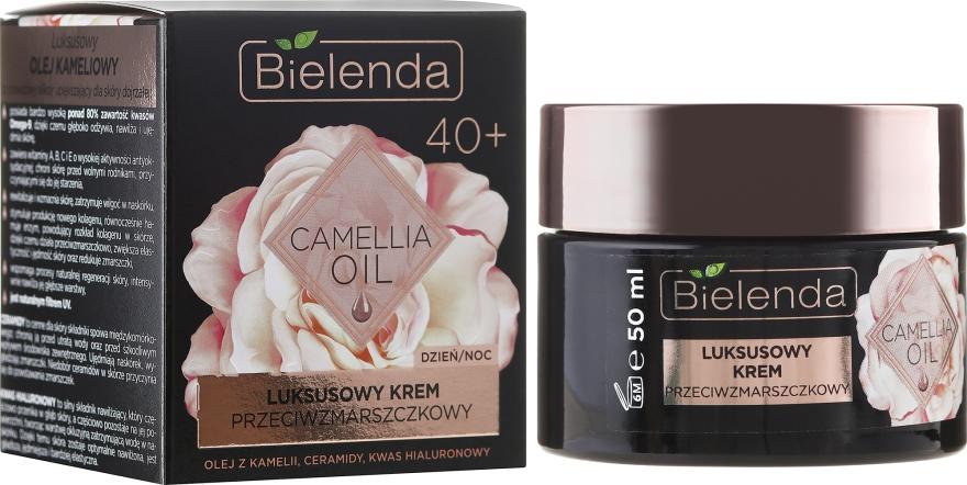 Crema idratante antirughe 40+ - Bielenda Camellia Oil Luxurious Anti-Wrinkle Cream 40+ — foto N1