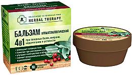 """Profumi e cosmetici Balsamo """"Aromaterapia"""" 4 in 1 a base di 16 erbe officinali - ECO Laboratorie Herbal Therapy"""