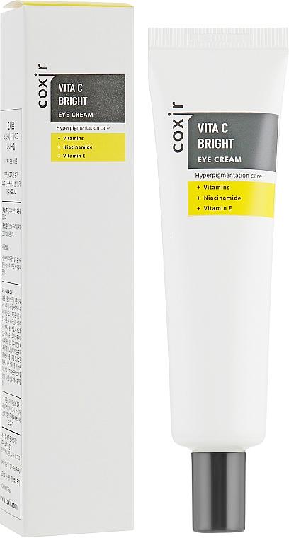 Crema contorno occhi con vitamine - Coxir Vita C Bright Eye Cream — foto N1