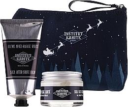 Profumi e cosmetici Set - Institut Karite Men Shea (f/cr/50ml + ash/balm/75ml + bag)