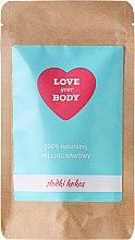 """Profumi e cosmetici Scrub corpo al caffè """"Cocco dolce"""" - Love Your Body Peeling"""