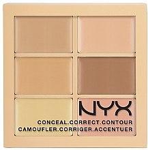 Profumi e cosmetici Palette correttiva viso - NYX Professional Makeup Palette Conceal Correct Contour