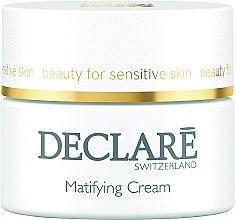Profumi e cosmetici Crema idratante opacizzante - Declare Matifying Hydro Cream