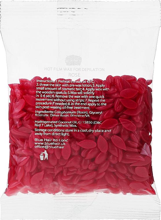 """Cera depilatoria in granuli """"Rose"""" - Ronney Hot Film Wax Rose"""