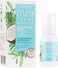 Profumi e cosmetici Siero capelli con acqua di cocco - Marion Enjoy Coco Serum
