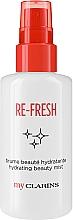 Profumi e cosmetici Mist rinfrescante viso - Clarins My Clarins Re-Fresh Hydrating Beauty Mist