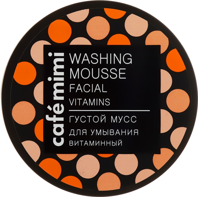 Mousse detergente vitaminica per viso - Cafe Mimi Washing Mousse Facial Vitaminic