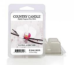 Profumi e cosmetici Cera profumata - Country Candle Vanilla Orchid Wax Melts