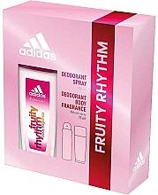 Profumi e cosmetici Adidas Fruity Rhythm - Set (deo/spray/75ml+deo/150ml)