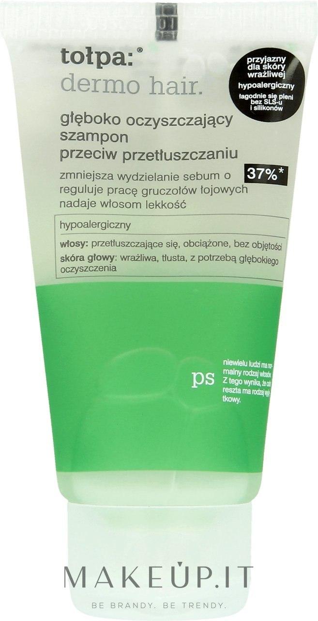 Shampoo per capelli grassi - Tolpa Dermo Hair Deep Cleansing Shampoo — foto 50 ml