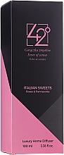 """Profumi e cosmetici Diffusore di aromi """"Dolci italiani"""" - 42° by Beauty More Italian Sweets Roses & Pannacotta Luxury Home Diffuser"""