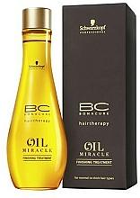 Profumi e cosmetici Olio per capelli - Schwarzkopf Professional Bonacure BC