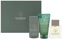 Profumi e cosmetici Ermenegildo Zegna Acqua Di Bergamotto - Set (edt/100ml + deostick/73ml + hair/body/wash/75ml)