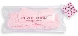 Profumi e cosmetici Fascia capelli, rosa - Revolution Skincare Pretty Pink Hair Band