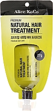 Profumi e cosmetici Condizionante naturale per capelli - Alice Koco Premium Natural Hair Treatment