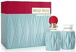Profumi e cosmetici Miu Miu Miu Miu - Set (edp/100ml + b/lot/100ml)