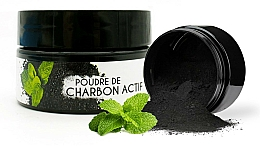 """Profumi e cosmetici Polvere sbiancante denti """"Menta"""" - Keeth Mint-flavoured Activated Charcoal Bleaching Powder"""